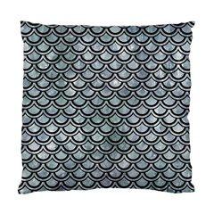 Scales2 Black Marble & Ice Crystals Standard Cushion Case (one Side) by trendistuff