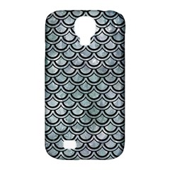 Scales2 Black Marble & Ice Crystals Samsung Galaxy S4 Classic Hardshell Case (pc+silicone) by trendistuff
