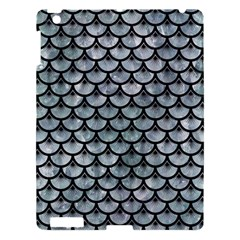 Scales3 Black Marble & Ice Crystals Apple Ipad 3/4 Hardshell Case by trendistuff