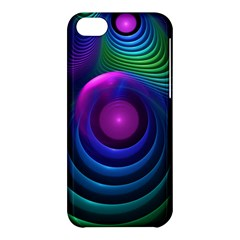 Beautiful Rainbow Marble Fractals In Hyperspace Apple Iphone 5c Hardshell Case by jayaprime