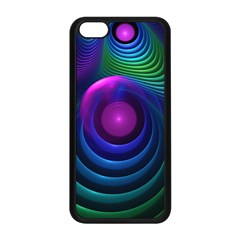 Beautiful Rainbow Marble Fractals In Hyperspace Apple Iphone 5c Seamless Case (black) by jayaprime