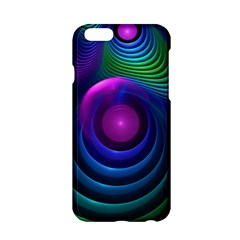 Beautiful Rainbow Marble Fractals In Hyperspace Apple Iphone 6/6s Hardshell Case by jayaprime