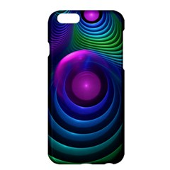 Beautiful Rainbow Marble Fractals In Hyperspace Apple Iphone 6 Plus/6s Plus Hardshell Case by jayaprime