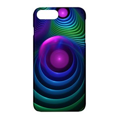 Beautiful Rainbow Marble Fractals In Hyperspace Apple Iphone 7 Plus Hardshell Case by jayaprime