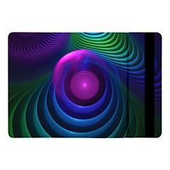 Beautiful Rainbow Marble Fractals In Hyperspace Apple Ipad Pro 10 5   Flip Case by jayaprime