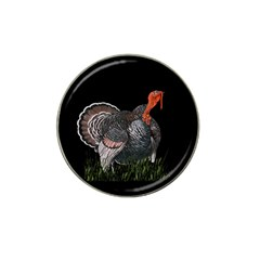 Thanksgiving Turkey Hat Clip Ball Marker by Valentinaart