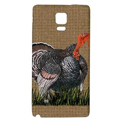 Thanksgiving Turkey Galaxy Note 4 Back Case by Valentinaart