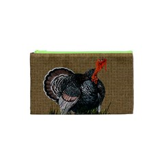 Thanksgiving Turkey Cosmetic Bag (xs) by Valentinaart