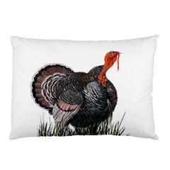 Thanksgiving Turkey Pillow Case by Valentinaart