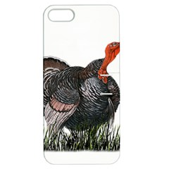 Thanksgiving Turkey Apple Iphone 5 Hardshell Case With Stand by Valentinaart
