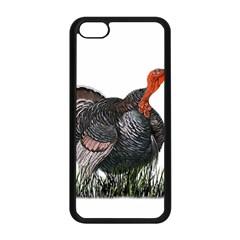 Thanksgiving Turkey Apple Iphone 5c Seamless Case (black) by Valentinaart