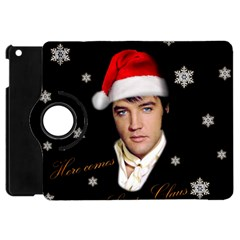 Elvis Presley   Christmas Apple Ipad Mini Flip 360 Case by Valentinaart