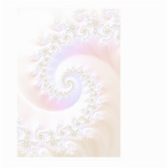 Mother Of Pearls Luxurious Fractal Spiral Necklace Large Garden Flag (two Sides) by jayaprime