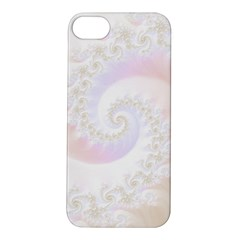 Mother Of Pearls Luxurious Fractal Spiral Necklace Apple Iphone 5s/ Se Hardshell Case by beautifulfractals