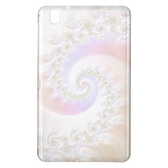 Mother Of Pearls Luxurious Fractal Spiral Necklace Samsung Galaxy Tab Pro 8 4 Hardshell Case by beautifulfractals