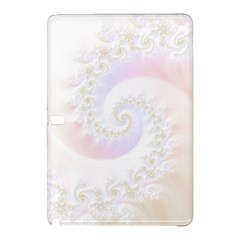 Mother Of Pearls Luxurious Fractal Spiral Necklace Samsung Galaxy Tab Pro 12 2 Hardshell Case by jayaprime