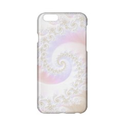 Mother Of Pearls Luxurious Fractal Spiral Necklace Apple Iphone 6/6s Hardshell Case by jayaprime