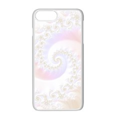 Mother Of Pearls Luxurious Fractal Spiral Necklace Apple Iphone 7 Plus Seamless Case (white) by jayaprime