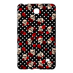 Skulls And Roses Samsung Galaxy Tab 4 (7 ) Hardshell Case  by Valentinaart