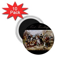 The First Thanksgiving 1 75  Magnets (10 Pack)  by Valentinaart