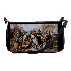 The First Thanksgiving Shoulder Clutch Bags by Valentinaart
