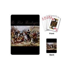 The First Thanksgiving Playing Cards (mini)  by Valentinaart