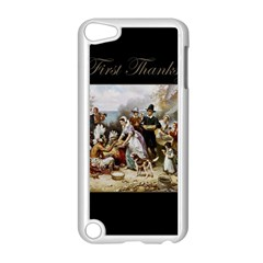 The First Thanksgiving Apple Ipod Touch 5 Case (white) by Valentinaart