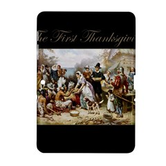 The First Thanksgiving Samsung Galaxy Tab 2 (10 1 ) P5100 Hardshell Case  by Valentinaart