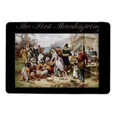 The First Thanksgiving Samsung Galaxy Tab Pro 10 1  Flip Case by Valentinaart