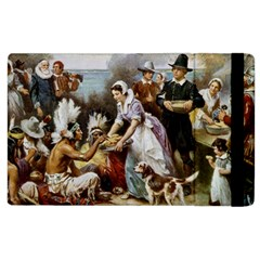The First Thanksgiving Apple Ipad 2 Flip Case by Valentinaart