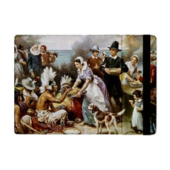 The First Thanksgiving Apple Ipad Mini Flip Case by Valentinaart