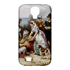 The First Thanksgiving Samsung Galaxy S4 Classic Hardshell Case (pc+silicone) by Valentinaart