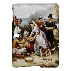 The First Thanksgiving Samsung Galaxy Tab S (10 5 ) Hardshell Case  by Valentinaart