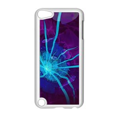 Beautiful Bioluminescent Sea Anemone Fractalflower Apple Ipod Touch 5 Case (white) by jayaprime