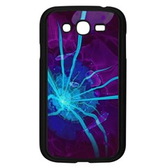 Beautiful Bioluminescent Sea Anemone Fractalflower Samsung Galaxy Grand Duos I9082 Case (black) by jayaprime