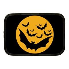Bats Moon Night Halloween Black Netbook Case (medium)  by Alisyart
