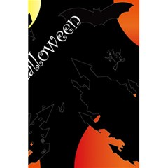 Castil Witch Hlloween Sinister Night Home Bats 5 5  X 8 5  Notebooks by Alisyart