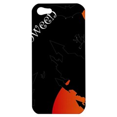 Castil Witch Hlloween Sinister Night Home Bats Apple Iphone 5 Hardshell Case by Alisyart