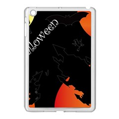 Castil Witch Hlloween Sinister Night Home Bats Apple Ipad Mini Case (white) by Alisyart