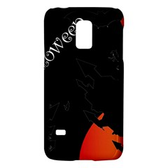 Castil Witch Hlloween Sinister Night Home Bats Galaxy S5 Mini by Alisyart