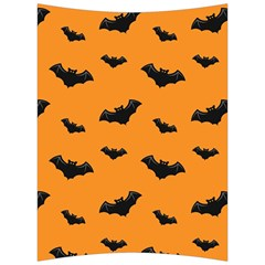 Halloween Bat Animals Night Orange Back Support Cushion by Alisyart