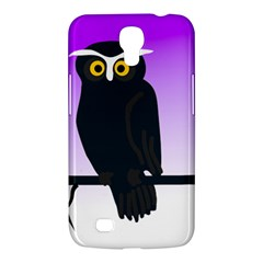 Halloween Owl Bird Animals Night Samsung Galaxy Mega 6 3  I9200 Hardshell Case by Alisyart