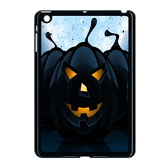 Halloween Pumpkin Dark Face Mask Smile Ghost Night Apple Ipad Mini Case (black) by Alisyart