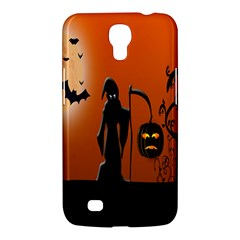 Halloween Sinister Night Moon Bats Samsung Galaxy Mega 6 3  I9200 Hardshell Case by Alisyart