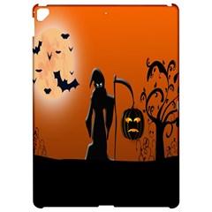 Halloween Sinister Night Moon Bats Apple Ipad Pro 12 9   Hardshell Case by Alisyart