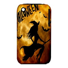 Halloween Wicked Witch Bat Moon Night Iphone 3s/3gs by Alisyart