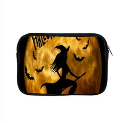 Halloween Wicked Witch Bat Moon Night Apple Macbook Pro 15  Zipper Case by Alisyart