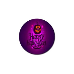 Happy Ghost Halloween Golf Ball Marker (4 Pack) by Alisyart