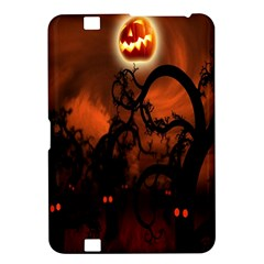 Halloween Pumpkins Tree Night Black Eye Jungle Moon Kindle Fire Hd 8 9  by Alisyart