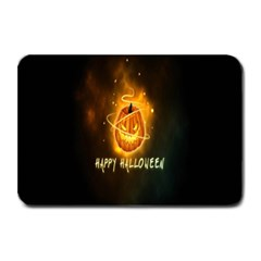 Happy Halloween Pumpkins Face Smile Face Ghost Night Plate Mats by Alisyart